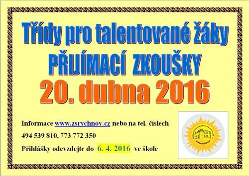 Základní škola Masarykova Rychnov nad Kněžnou - Aktuality 72544371e7